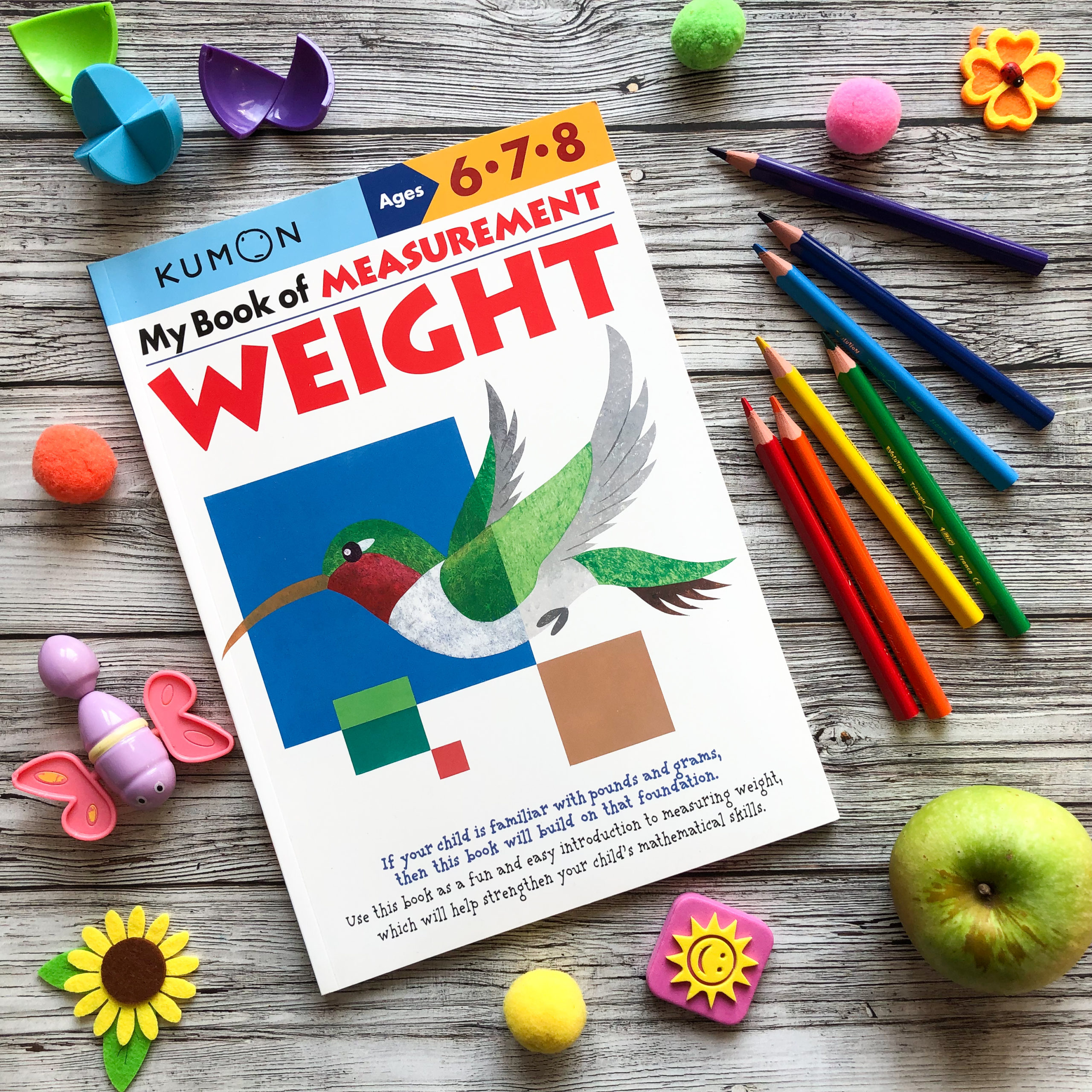My Book Of Measurement: Weight, 6-8