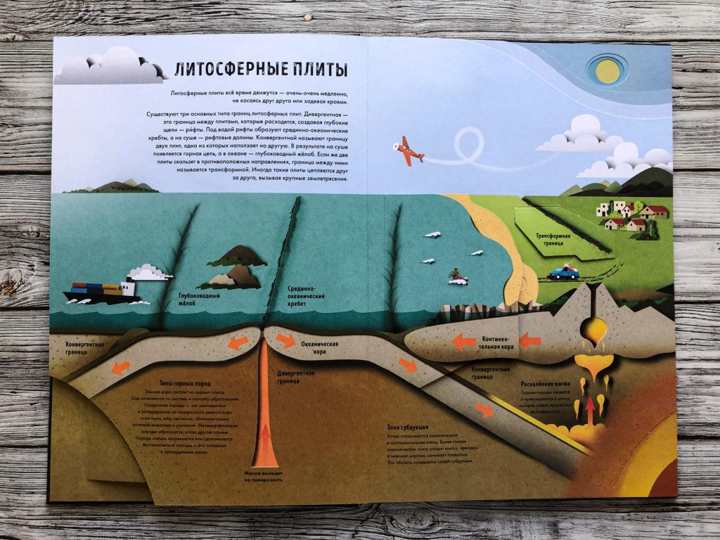 """Могут ли уроки географии быть интересными? - Огромная рельефная книга """"Как устроена Земля"""" 10"""