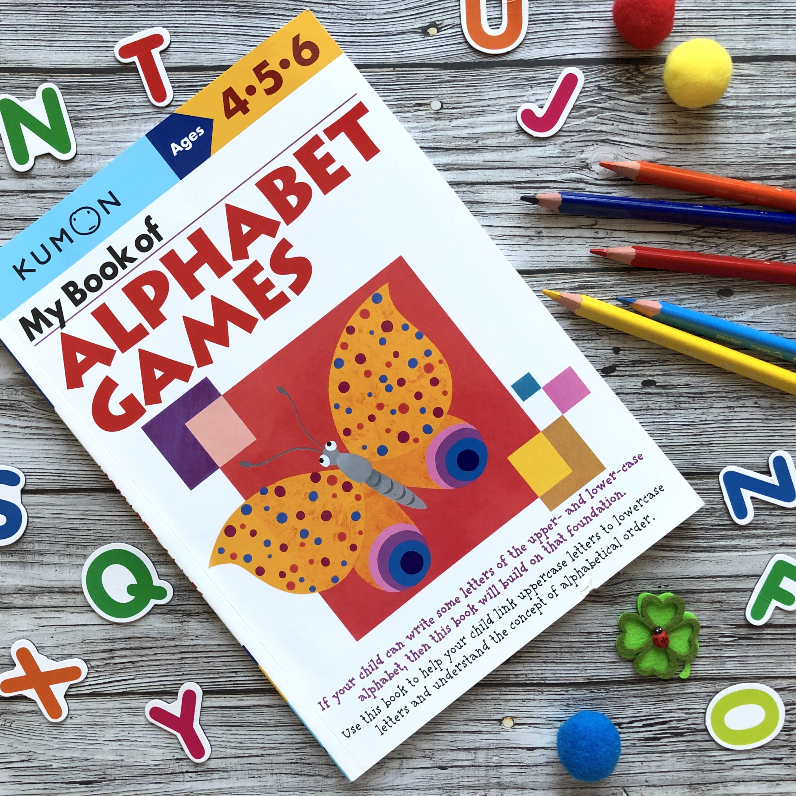 My Book Of Alphabet Games, 4-6