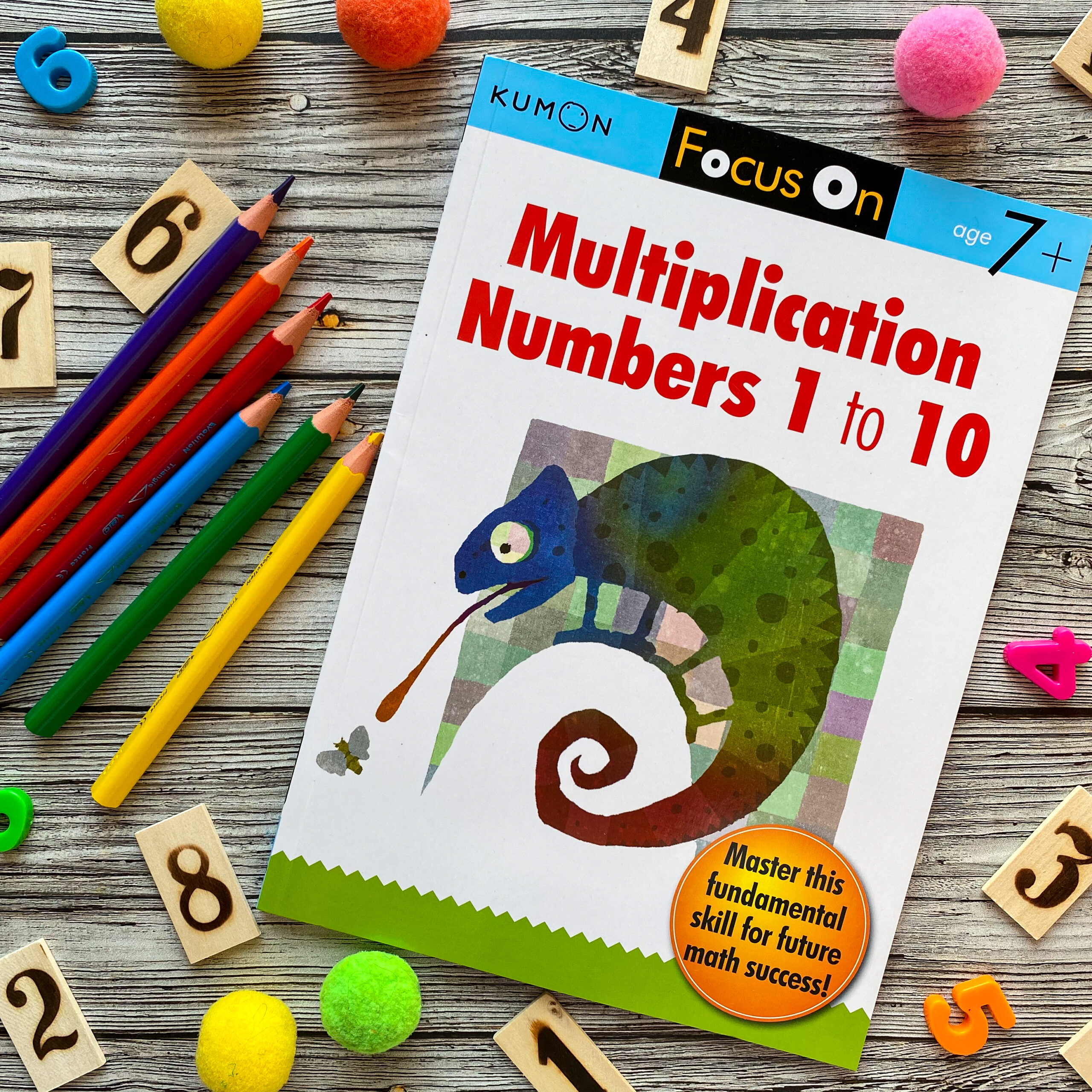 Multiplication, Numbers 1 to 10 1