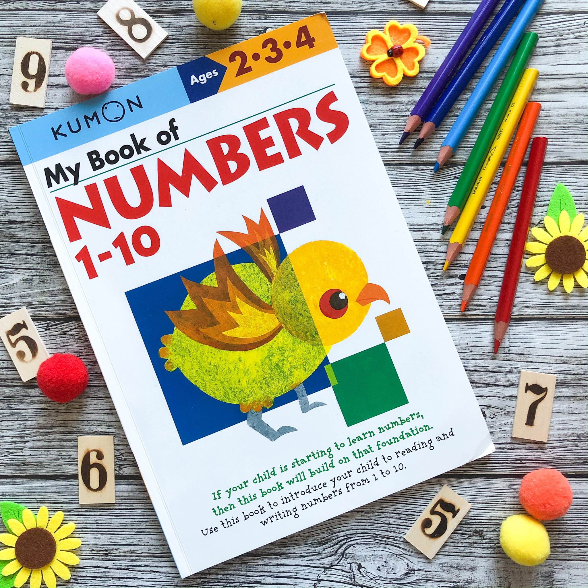 My Book of Numbers 1-10, 2-4 1