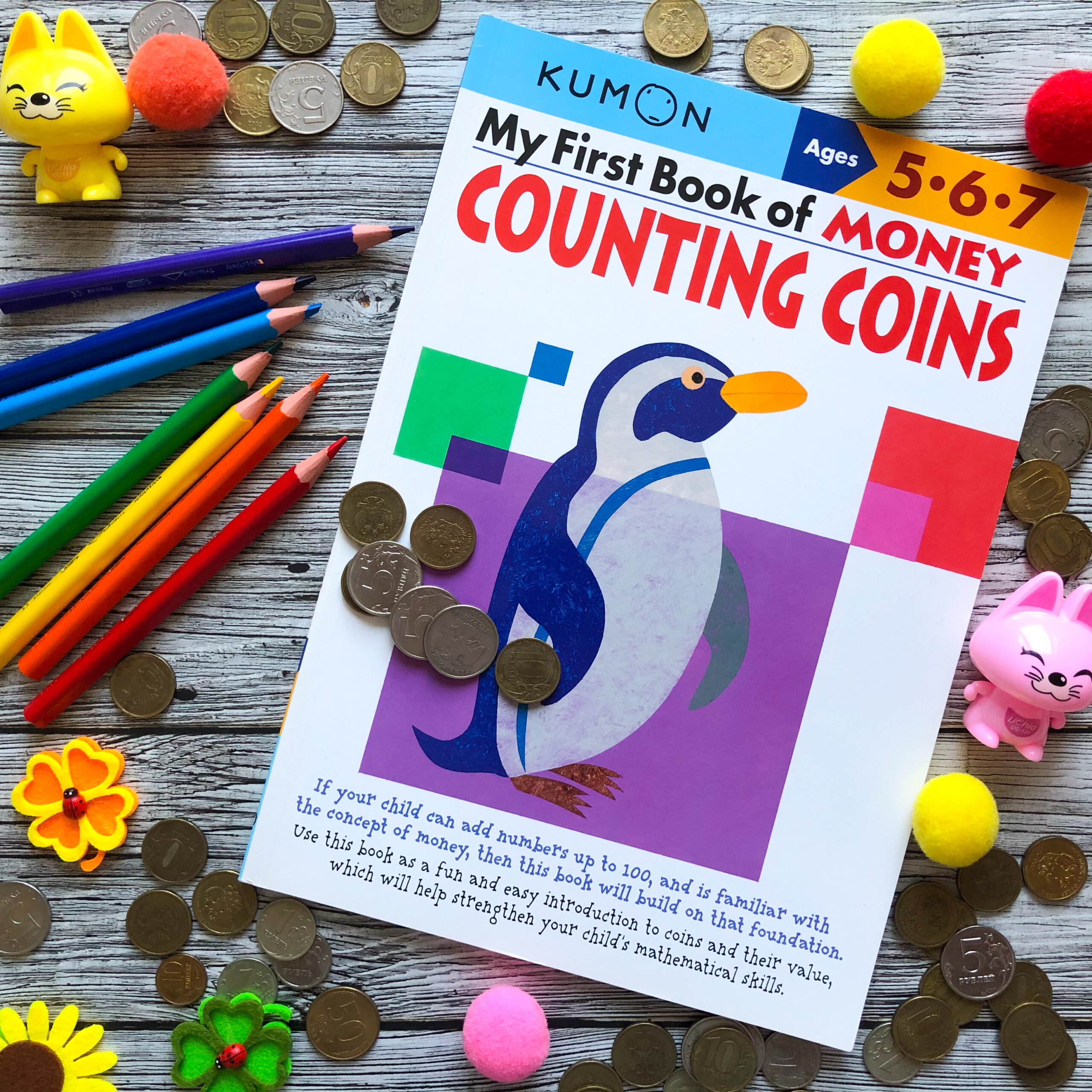 My First Book Of Money: Counting Coins, 5-7