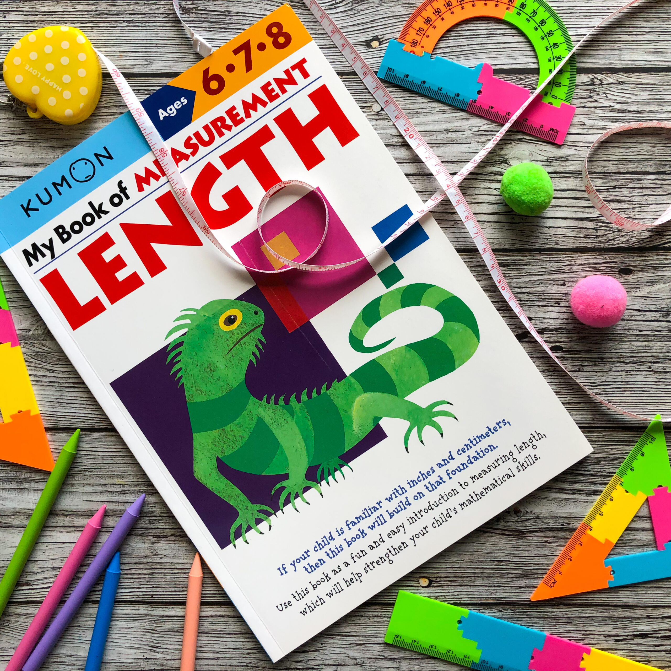 My Book Of Measurement: Length, 6-8