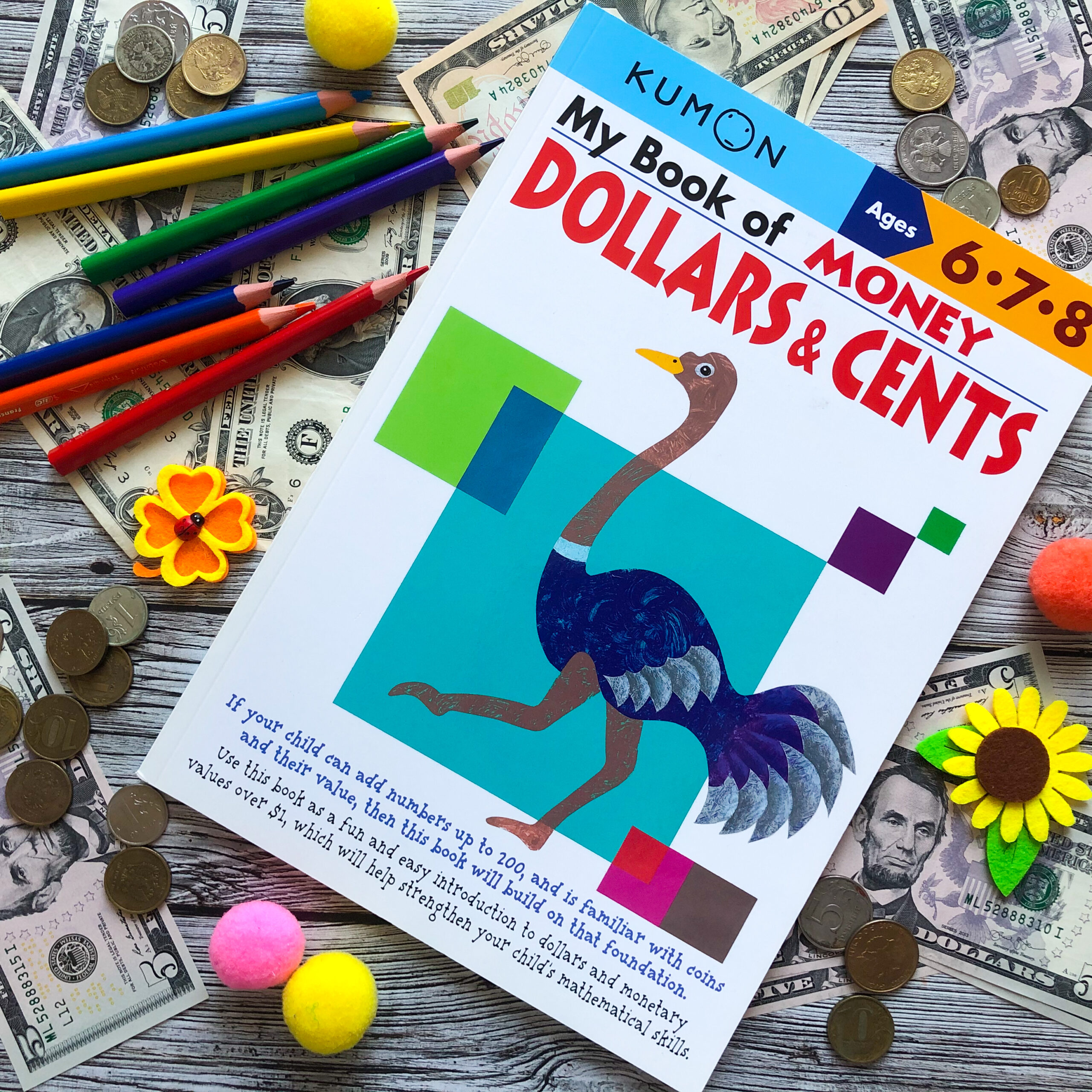My Book of Money: Dollars & Cents, 6-8 1