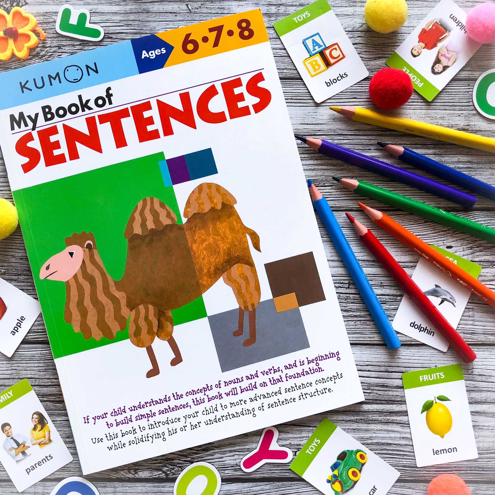 My Book of Sentences, 5-7 1