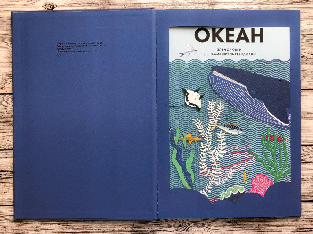 Нереально красивая книга Океан для захватывающих уроков естествознания 3